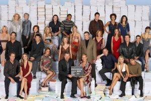 """Aktorzy """"Guiding Light"""", który mimo zakończenia emisji w 2009 roku nadal pozostaje najdłużej emitowanym serialem na świecie"""