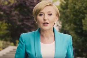 Agata Kornhauser-Duda, żona prezydenta Andrzeja Dudy, publicznie zabrała głos.