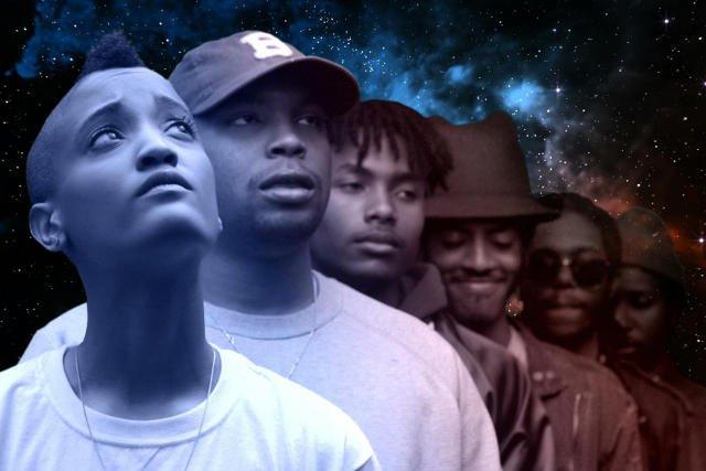 Syd the Kyd z zespołem.