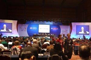 Z dyskusji o regulacjach światowego rynku tytoniowego na tegorocznym szczycie antynikotynowym w Indiach mogą zostać wykluczone niektóre państwa. Na zdjęciu 5. sesja konferencji WHO w sprawie tytoniu w Korei Południowej