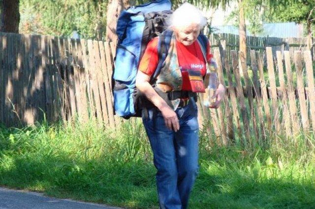 Teresa Olszewska-Bancewicz ma 82 lata i planuje kolejne podróże autostopem