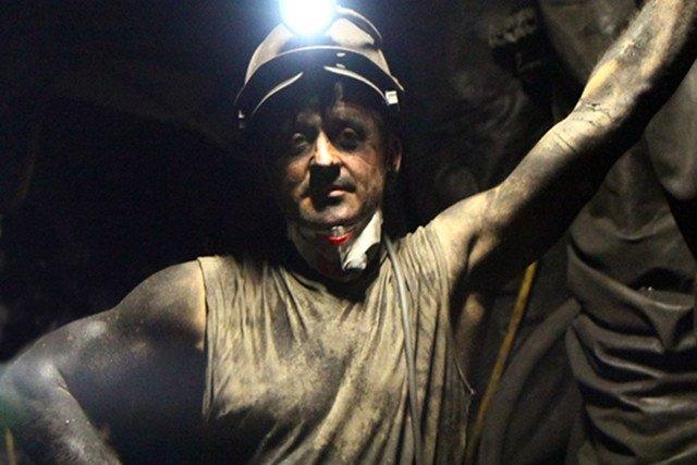 Górnik z Kompanii Węglowej