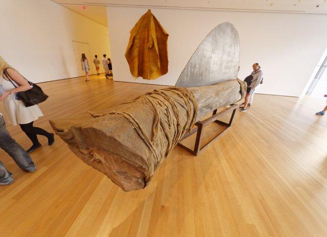 Winged Trunk, M. Abakanowicz