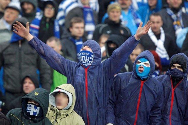 """Kibole GKS-u Katowice i Ruchu Chorzów pobili się w trakcie obchodów upamiętniających pacyfikację kopalni """"Wujek"""". Zdjęcie jest tylko ilustracjądo tekstu."""