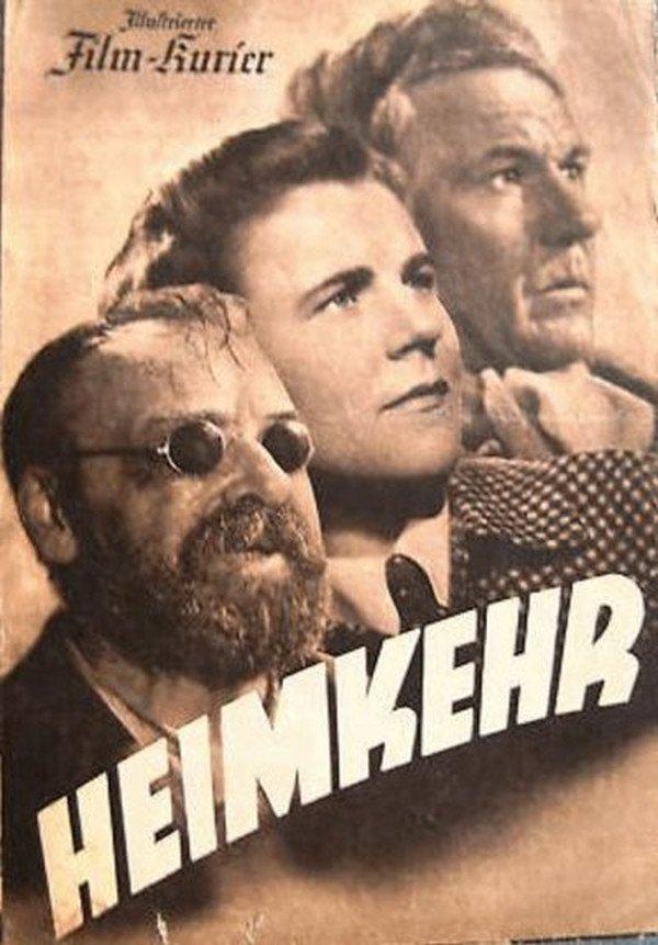 "Plakat do filmu ""Heimkehr""."