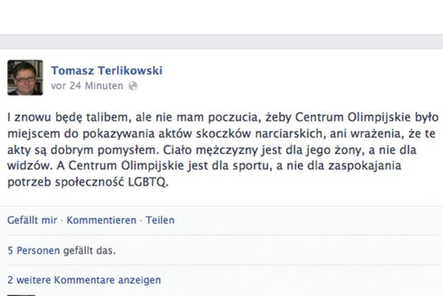 Naczelny Frondy ponownie zabrał głos w sprawie rozbieranych sesji polskich sportowców.