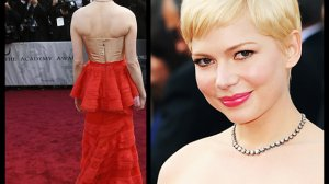 Michelle Williams w sukni od Marca Jacobsa