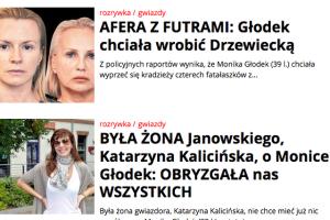 """Monika Głodek była bohaterką wielu artykułów """"Super Expressu"""". Zdaniem sądu, teksty naruszyły jej dobra osobiste."""
