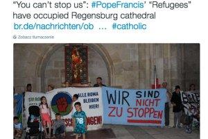 Imigranci okupują katedrę w Ratyzbonie