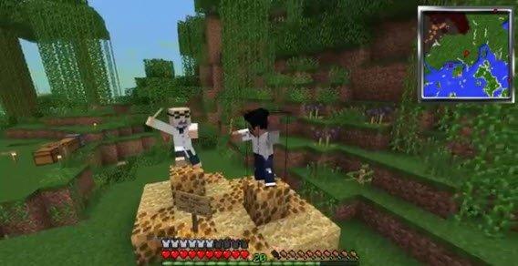 Minecraft Dad publikuje na YouTube filmiki ze swojej gry wraz z synem