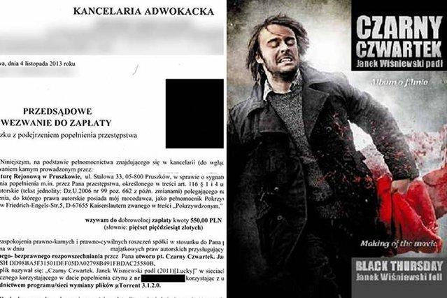 """""""Dostałem wezwanie do zapłaty"""" – skarżą się w sieci internauci, którzy otrzymali pisma od warszawskiej kancelarii adwokackiej Anny Łuczak"""