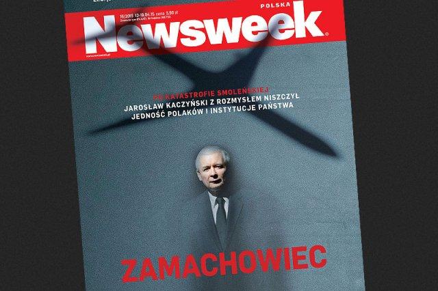 """""""Newsweek"""" analizuje, w jaki sposób PiS wykorzystuje katastrofę smoleńską."""