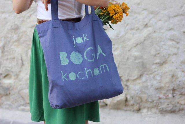 katolicka torba zaprojektowana przez sklepmalak.pl