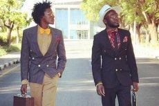 Loux the Vintage Guru (z lewej) jest jednym z ikon afrykańskich hipsterów
