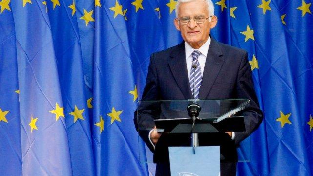 Jerzy Buzek jako przewodniczący PE.