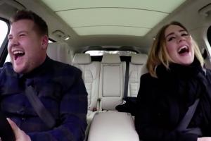 "Adele w programie ""Carpool Karaoke"""