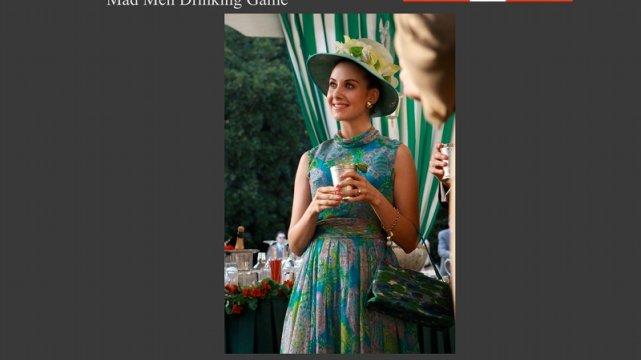 Wypij, kiedy Trudy ma dziwny kapelusz
