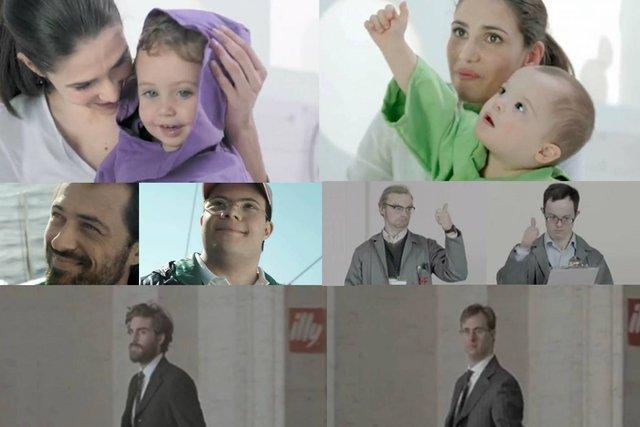 Kadry ze spotów reklamowych i oryginalne wersje reklam