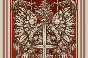 Taka grafika promuje trasę koncertową Behemotha - Rzeczpospolita Niewierna