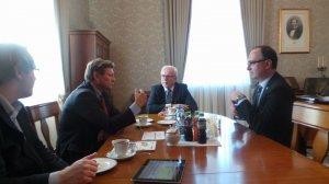 Spotkanie z władzami uczelni na UEK