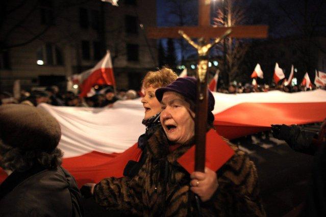 """10 kwietnia miała odbyć się wielka manifestacja poparcia dla rządu PiS. Jednak """"Marszu miliona"""" nie będzie"""