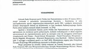 Wyrok w sprawie PJN.