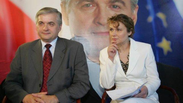 Włodzimierz Cimoszewicz i jego szefowa sztabu