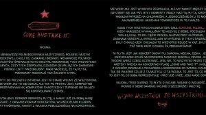 Manifest Skowytu – kliknij by zobaczyć cały