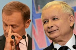 """Kaczyński: Tusk do Brukseli. Kopacz premierem? """"Nie odpowiem, bo jestem grzeczny wobec kobiet"""""""