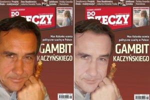 """Mariusz Max Kolonko zdziwiony najnowszą okładką """"Do Rzeczy""""."""