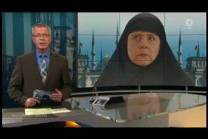 Reichstag przerobiony na meczet i Angela Merkel w czadorze – tak niemiecka telewizja ostrzega przed islamizacją Niemiec