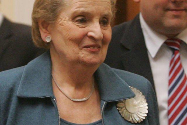 Madeleine Albright uczyniła broszki manifestem politycznym.