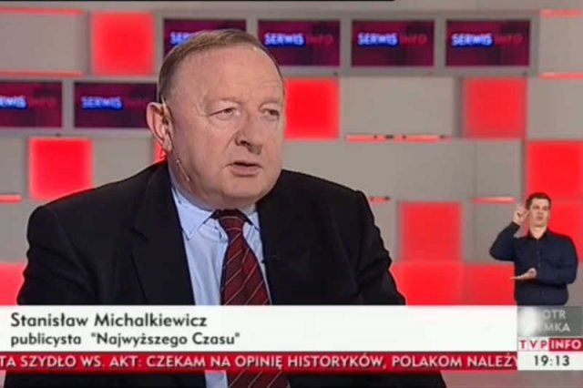 TVP INFO zaprosiło Stanisława Michalkiewicza, który zasłynął antysemickimi wypowiedziami.
