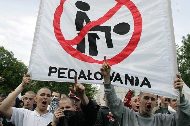 Kontrmanifestacja wobec Parady Równości w 2006 roku