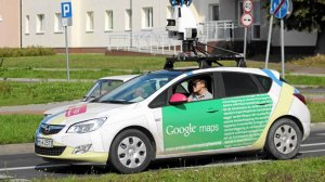Samochód Google Maps fotografuje ulice Szczecina