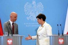 Minister finansów Paweł Szałamacha i premier Beata Szydło mają problem – KE zakwestionowała podatek handlowy.