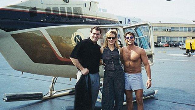 Belfortowi zdarzało się latać helikopterem, kiedy był naćpany