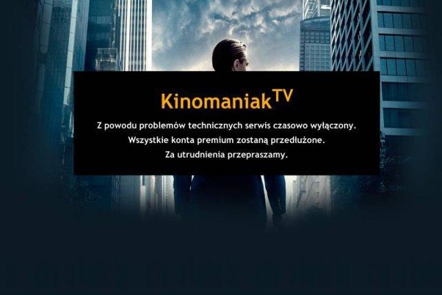 W czwartek zamknięto serwis kinomaniak.tv. Taką decyzjęmiał podjąć polski sąd.