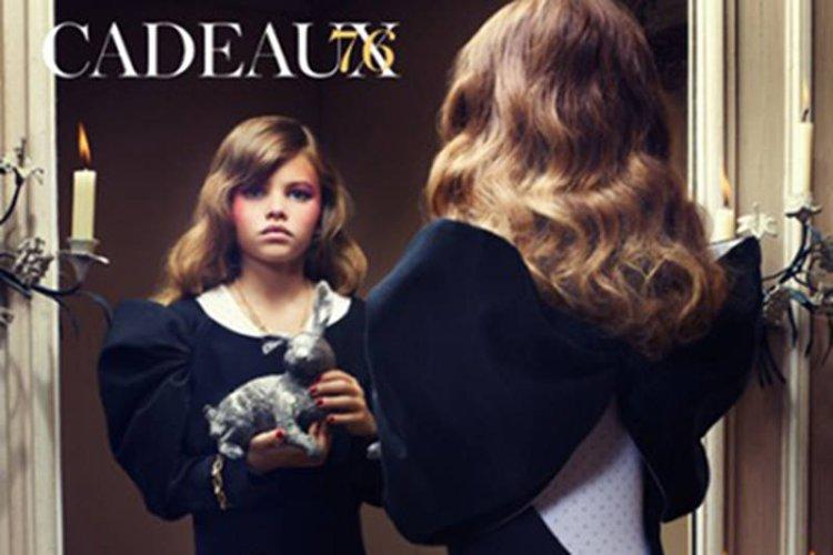 Vogue обвинили в совращении малолетних за сексуальные фото 10-летней девочк