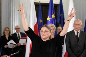 Krystyna Pawłowicz wydała na taksówki ponad 52 tysiące złotych.