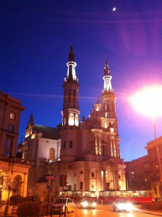 Kościół Najświętszego Zbawiciela to jedno z bardziej udanych dzieł przedwojennego architekta, Józefa Piusa Dziekońskiego.