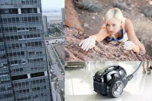 W najnowszej kampanii reklamowej odkurzaczy produkcji LG wzięła udział młoda alpinistka Sierra Blair-Coyle