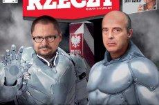 """Na okładce nowego """"Do Rzeczy"""" Tomasz Terlikowski i Jan Pospieszalskich chcąnas chronićprzed """"homoimperium""""."""