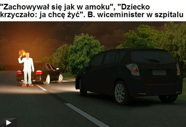 Media prześcigają się w wizjach strzelaniny na drodze z udziałem Zbigniewa R. byłego wiceministra w rządzie PiS i doradcy Jerzego Buzka.