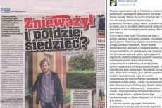 24-letni działacz społeczny z Głogowa zapytał o przeszłość żołnierzy wyklętych, rozwścieczyłlokalnych patriotów.