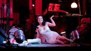 Betty Q podczas występu
