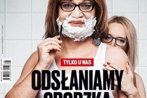 """Karnowscy atakują Annę Grodzką na okładce swojego pisma. """"Prywatnie mieszka z heteroseksualną kobietą"""""""