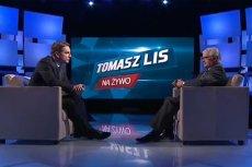 """Włodzimierz Cimoszewicz był gościem programu """"Tomasz Lis na żywo""""."""