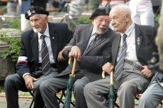 PiS woli czcić poległych bohaterów niż pomóc żyjącym. Na zdjęciu od lewej: Leszek Żukowski, Zbigniew Galperyn i Eugeniusz Tyrajski.