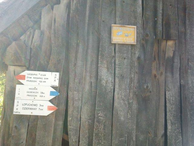 Prawdziwa ruska bania we wsi Wodziłki.